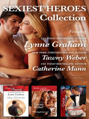 cover image of Sexiest Heroes Collection--3 Book Box Set