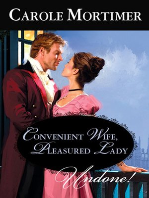 cover image of Convenient Wife, Pleasured Lady