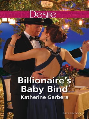 cover image of Billionaire's Baby Bind