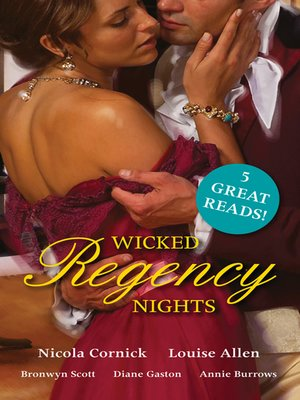 cover image of Wicked Regency Nights--5 Book Box Set