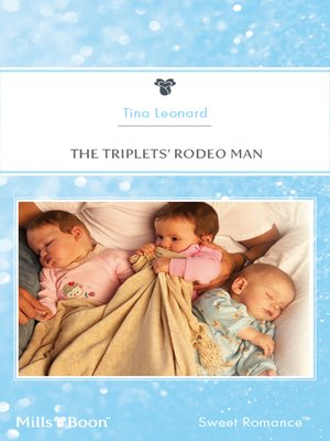 cover image of The Triplets' Rodeo Man