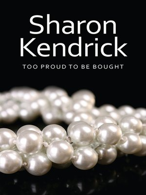 cover image of Too Proud to Be Bought