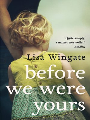 cover image of Before We Were Yours--a poignant, family story dubbed one of the best books of the year by the Huffington Post