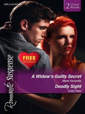 cover image of A Widow's Guilty Secret/Deadly Sight/The Spy Who Loved Her