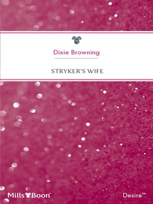 cover image of Stryker's Wife