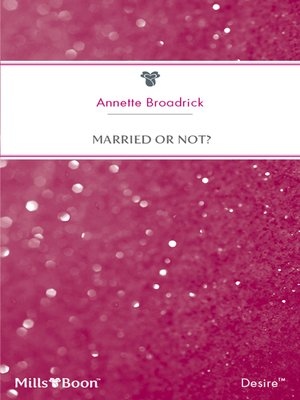 cover image of Married Or Not?