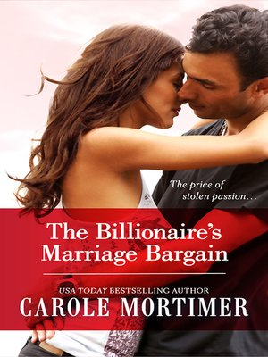 cover image of The Billionaire's Marriage Bargain
