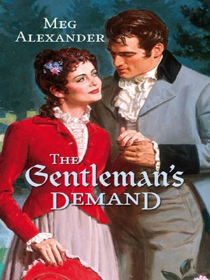 cover image of The Gentleman's Demand