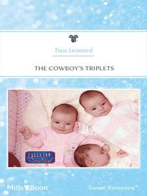 cover image of The Cowboy's Triplets