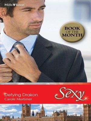 cover image of Defying Drakon