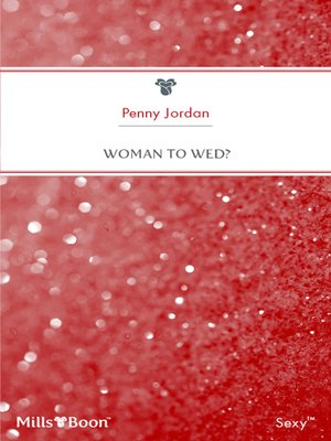 cover image of Woman to Wed?