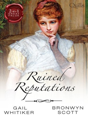 cover image of Ruined Reputations/No Role For a Gentleman/A Lady Risks All