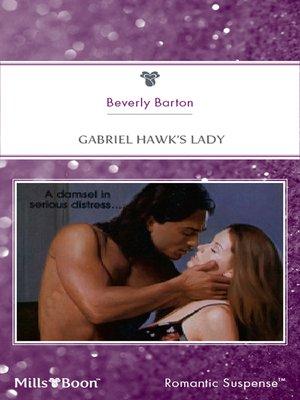 cover image of Gabriel Hawk's Lady