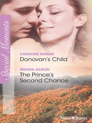 cover image of Donovan's Child/The Prince's Second Chance