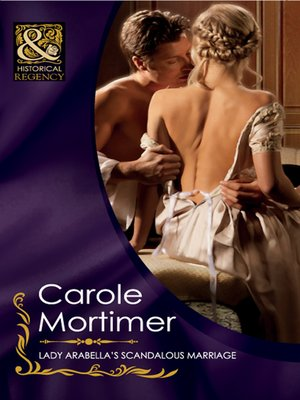 cover image of Lady Arabella's Scandalous Marriage