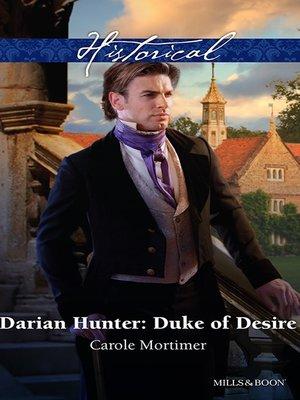 cover image of Darian Hunter