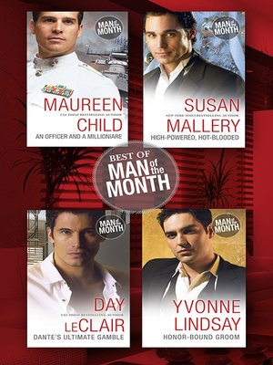 cover image of Best of Man of the Month--4 Book Box Set
