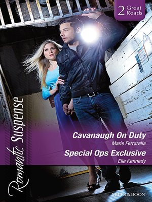 cover image of Cavanaugh On Duty/Special Ops Exclusive