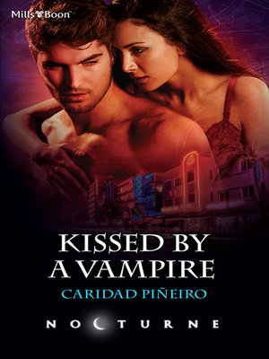 cover image of Kissed by a Vampire