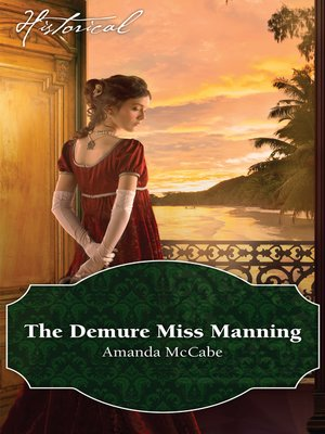 cover image of The Demure Miss Manning