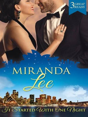 cover image of It Started With One Night--3 Book Box Set