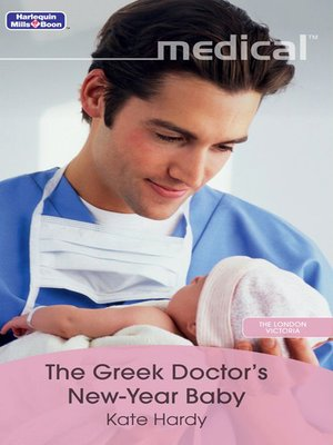 cover image of The Greek Doctor's New-Year Baby