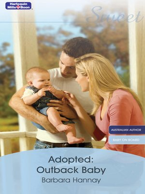 cover image of Adopted Outback Baby