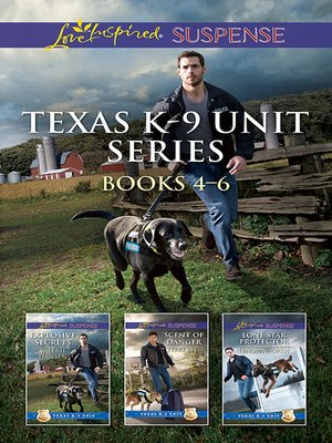 cover image of Texas K-9 Unit Volume 2--3 Book Box Set