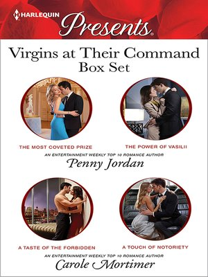 cover image of Virgins At Their Command Bundle--4 Book Box Set