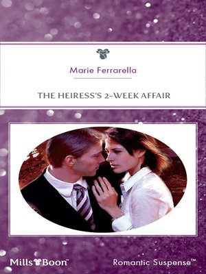 cover image of The Heiress's 2-Week Affair