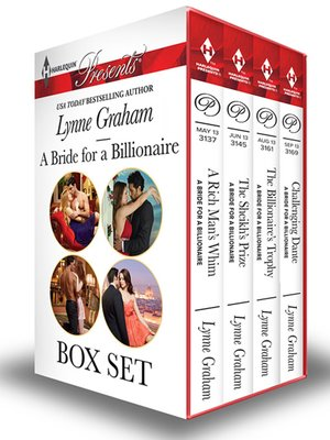 cover image of A Bride For a Billionaire Bundle--4 Book Box Set