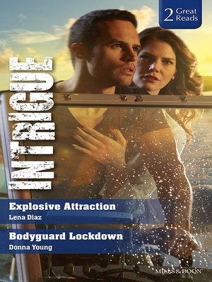 cover image of Explosive Attraction/Bodyguard Lockdown