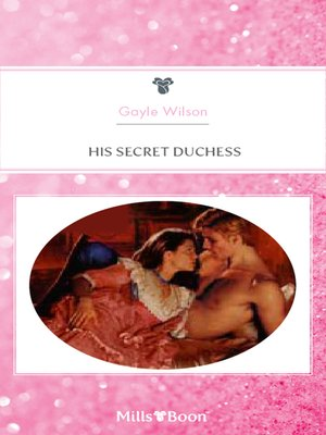 cover image of His Secret Duchess