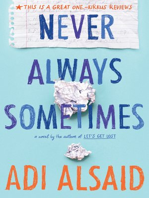 cover image of Never Always Sometimes