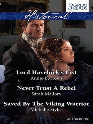 cover image of Lord Havelock's List/Never Trust a Rebel/Saved by the Viking War