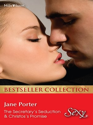 cover image of Jane Porter Bestseller Collection 201210/The Secretary's Seduction/Christos's Promise