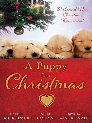 cover image of A Puppy For Christmas--3 Book Box Set