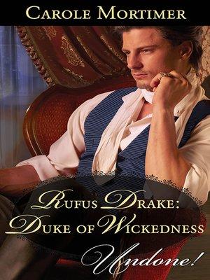 cover image of Rufus Drake