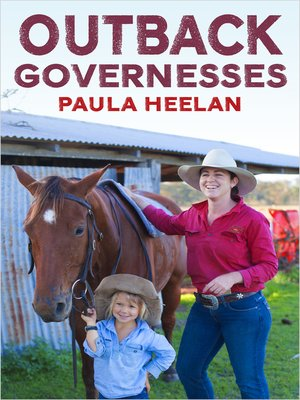 cover image of Outback Governesses