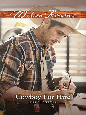 cover image of Cowboy For Hire