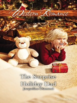 cover image of The Surprise Holiday Dad