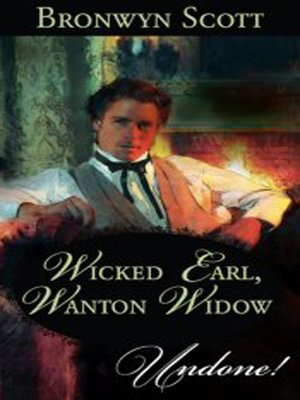 cover image of Wicked Earl, Wanton Widow