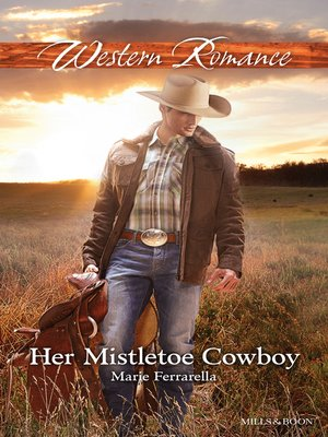 cover image of Her Mistletoe Cowboy