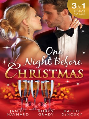cover image of One Night Before Christmas--3 Book Box Set