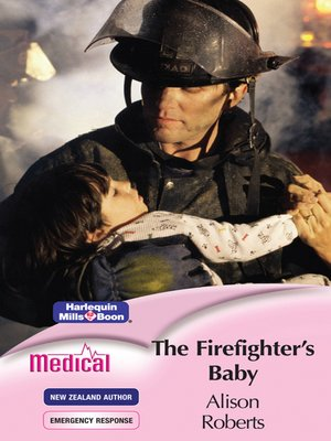 cover image of The Firefighter's Baby