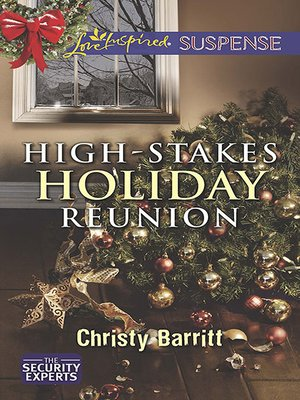 cover image of High-Stakes Holiday Reunion