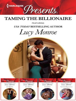 cover image of Taming the Billionaire Bundle--4 Book Box Set
