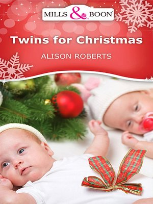 cover image of Twins For Christmas
