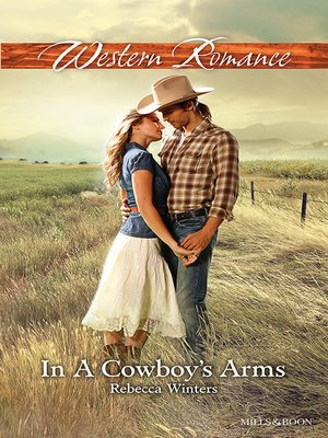 cover image of In a Cowboy's Arms