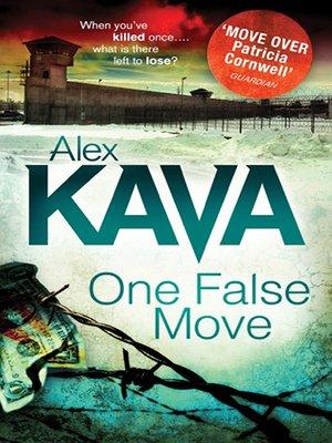 cover image of One False Move